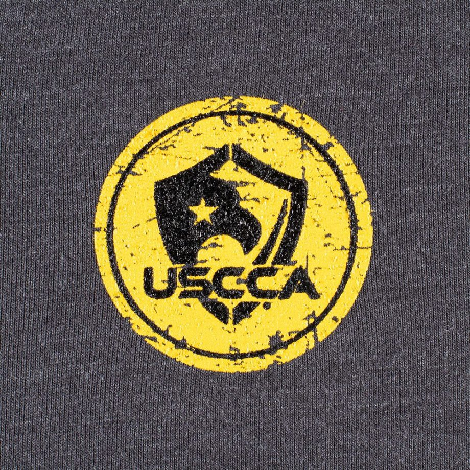 Detail-USCCA Women's Short-Sleeve Born To Protect T-Shirt