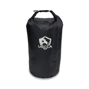 USCCA Logo 20L Dry Bag rolled