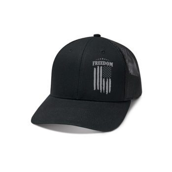 USCCA Freedom Flag Reflective Hat front