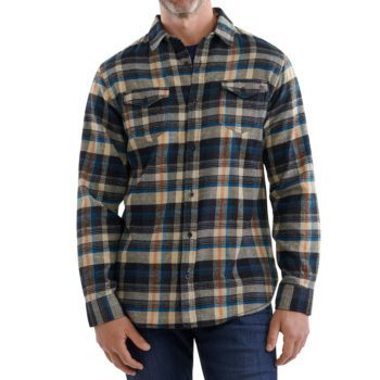 USCCA Men's Plaid Flannel BTP Shirt On Figure