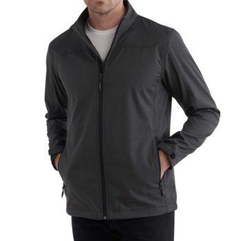 Men's Endurance Softshell Logo Jacket Front