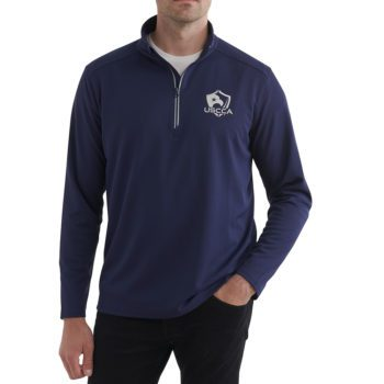 USCCA Men's Textured Logo Performance On Figure