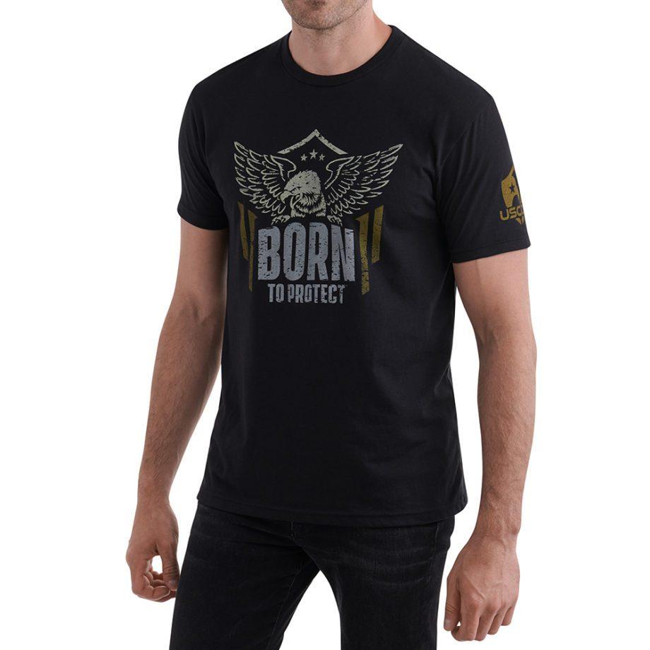 Born to Protect Shirt Black