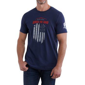 Armed for Good Flag Shirt