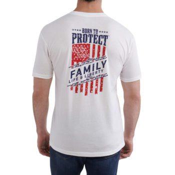 Men's We the People Tshirt backon figure