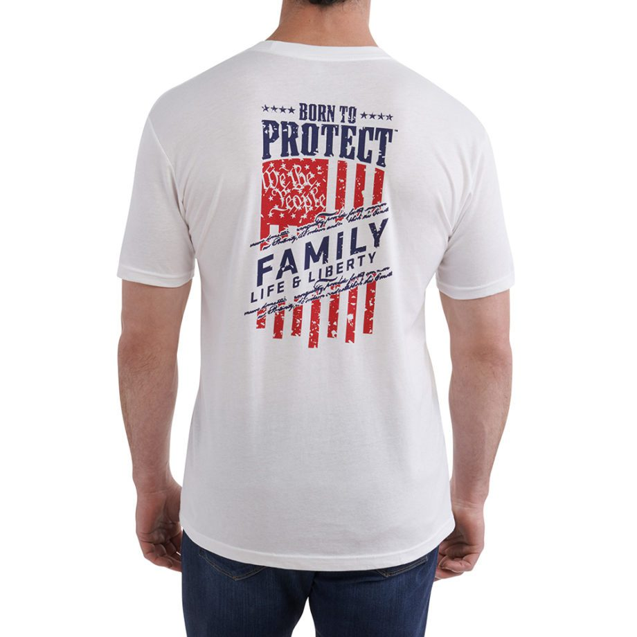Men's We the People Tshirt backon figure