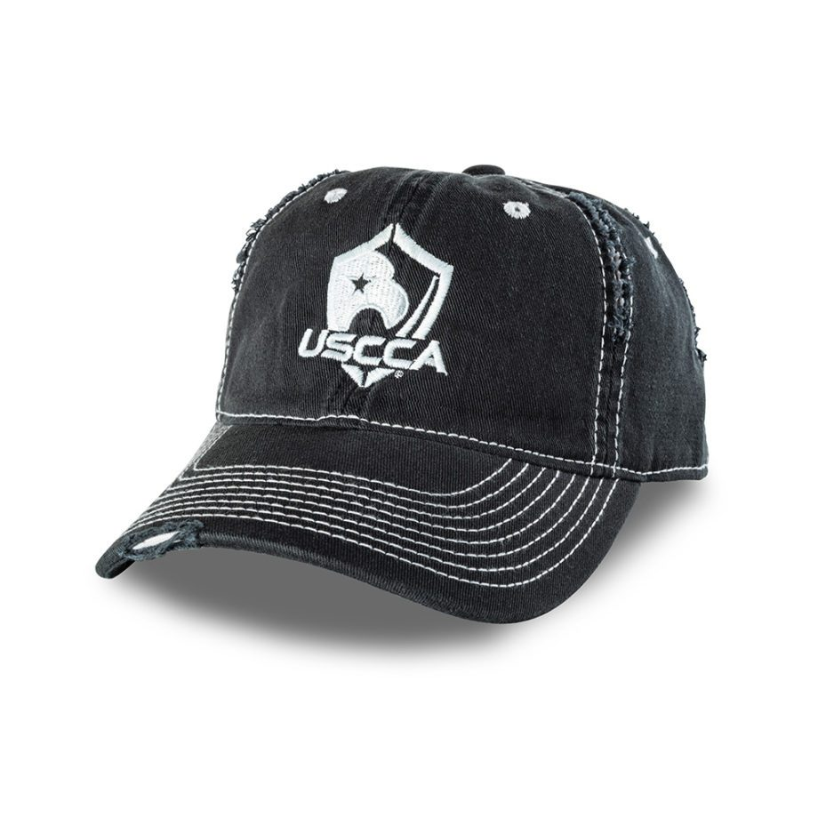 USCCA Distressed Hat Front