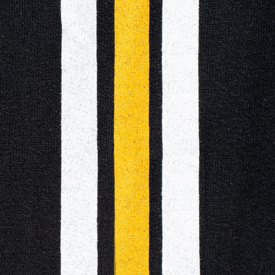 Detail-USCCA Men's Born to Protect Arm Striped Hooded Sweatshirt
