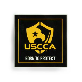 USCCA Sticker - 1 Count Front
