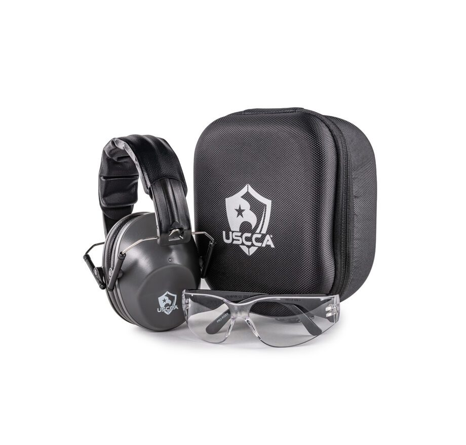 USCCA Eye & Electronic Ear Protection