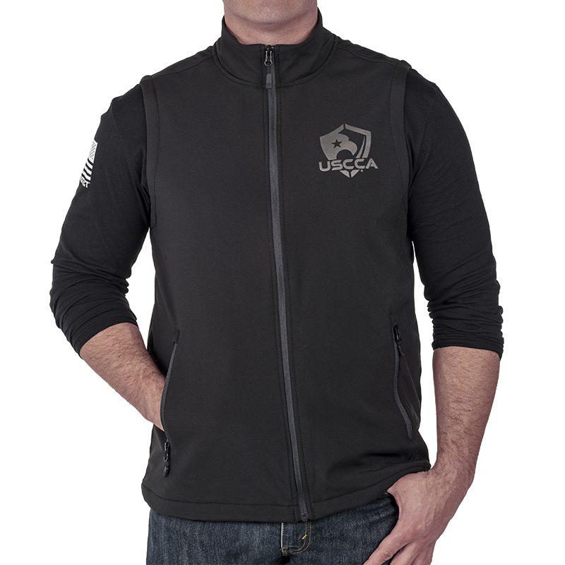 USCCA Men's Softshell Vest