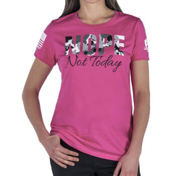 USCCA Women's Nope Not Today T-Shirt